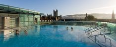 """Thermae Bath Spa - the """"new"""" bathes...be sure to see the ancient Roman one as well"""