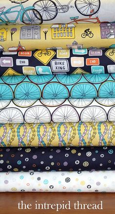 Ride Bundle for Friday's Fabric GIveaway!! by maureencracknell, via Flickr