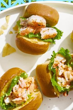 Mini Shrimp Rolls 4th of July Recipes