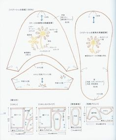 Patrones para hacer pantuflas (2)