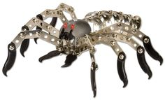 Wild Republic Nuts and Bolts Spider Construction Toys For Boys, Building For Kids, Inexpensive Gift, People Like, Funny People, Cool Toys, Brooch, Personalized Items, Metal