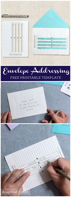 Heres The Secret To Perfectly Aligned Spaced And Straight Hand Written Envelopes Addressing