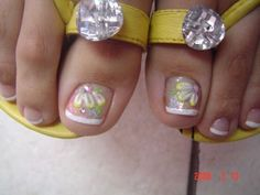 Easter 3D nails