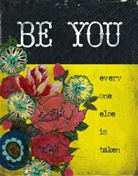 BE YOU by melody ross