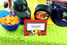 All Star Sports Birthday Party Package Printables by DarlingDoodle, $15.00