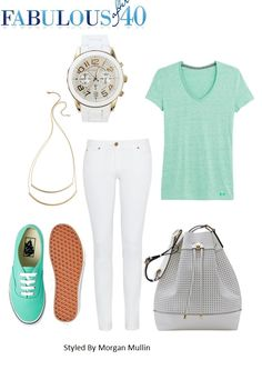 """Slip-on sneakers are the new """" it shoe"""" for everyday casual wear, which makes them perfect for traveling in summer too. Just slip them on and go."""