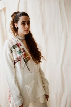 Elin Manon is a fashion designer specialising in knitwear. Her signature is repurposed clothing and materials from unusual sources. View Elin's latest collection now. Net Curtains, Knitwear, Recycled Materials, Fashion Designers, Showroom, Lace, Content, London, Clothes