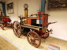 photo of steam powered fire engine