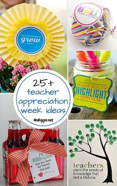 25+ teacher appreciation week ideas - NoBiggie.net