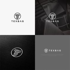 Create a minimal logo for a textile company by falah™