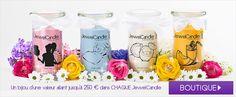 Cadeau spécial - Bougie parfumée avec bijou en argent | JewelCandle.fr