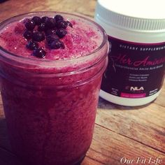 Starting my morning off with @NLA for Her Sports Supplements for Women #heraminos Berry Smoothie Before, during or after workouts you should intake amino acids to increase endurance, build lean muscle  enhance your recovery! To make it even more yummier I created this quick easy recipe. Her Aminos Berry Smoothie: - 1 scoop Her Aminos Pink Lemonade - 1 cup of mixed frozen berries (strawberries,blueberries,boysenberries) -1 cup of water *Blend it up  enjoy! #aminos #bcaa #protein #workout…