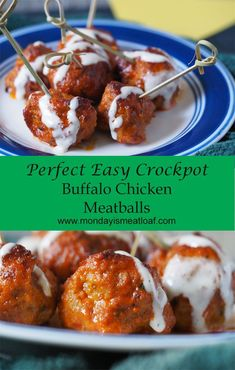 So easy to make, I did it twice in one day because my family love it so much! You will not be disappointed by quality, flavor, or how easy it is to make! Loving these easy perfect crockpot Buffalo chicken meatlballs! Tofu Recipes, Healthy Crockpot Recipes, Slow Cooker Recipes, Crockpot Meals, Snacks Recipes, Freezer Meals, Healthy Foods, Buffalo Chicken Meatballs, Slow Cooker