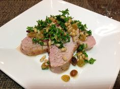 Mediterranean Inspired Pork Tenderloin