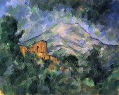 De eerste abstractie creaties werden, tussen 1904 en 1906, gemaakt door de Franse schilder Paul Cézanne, toen hij in zijn landschappen met de Mont Sainte-Victoire een onverbloemd kubistisch-abstraherende toets bracht.