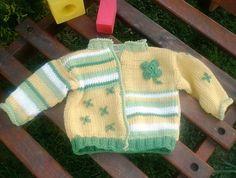 štístkový svetřík pro miminko..:-))