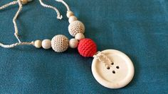 Handmade nursing necklace