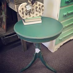 #DixieBellePaint #Palmetto Green creates a lovely new look from The Nest in Chardon, Ohio