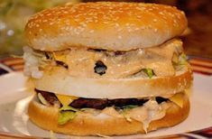 Homemade Big Mac (Clone) Recipe - The key is in the secret sauce! The Real Housewives of Riverton - Copycat Big Mac Hamburger Sauce, Hamburger Recipes, Molho Big Mac, Homemade Big Mac, Homemade Sandwich Bread, Clone Recipe, Recipe Recipe, Recipe Ideas, Big Mac Salad