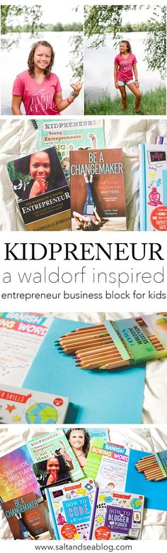Entrepreneurship for Kids // Minimalist Homeschooling | Salt + Sea | Coastal Bohemian Homeschool Lifestyle Blog