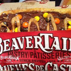 Chocolate? check! Peanut butter? check! Heaven? check! Triple Trip BeaverTails Photo by vic_pics01