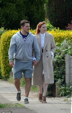 Eleanor Tomlinson holds hands with rugby player beau Will Owen Ben Atkinson, Leicester Tigers, Demelza Poldark, Brown High Heels, Rugby Club, Stunt Doubles, Eleanor Tomlinson, Australian Actors, Rugby Players