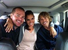 Chris, Daniela and Eric