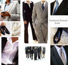 Dress code w biznesie / business formal