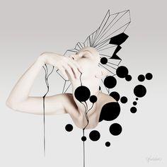 Geraldine Georges Bubbles Gicleé Fine Art Print #art