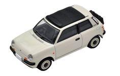 Tomica Limited Vintage TOMY LV-N107a NISSAN Be-1 CANVAS TOP 1/64 Miniature car #TAKARATOMYTOMYTEC #Nissan