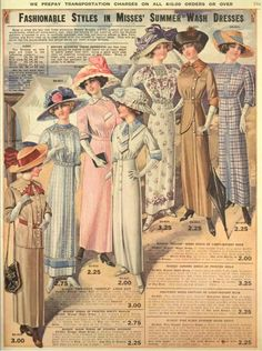 A complete guide for women attending a Titanic themed event. What to wear, where to buy dresses, sewing patterns and accessories for your Titanic costume. Edwardian Clothing, Edwardian Dress, Edwardian Fashion, Vintage Fashion, Edwardian Era, 1918 Fashion, Victorian Ladies, French Fashion, Ladies Fashion