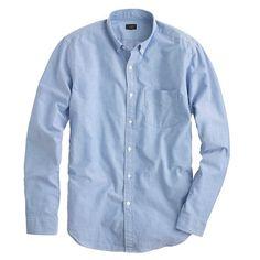 Vintage solid oxford shirt