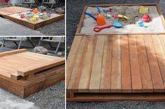 5 DIY Sandbox Ideas