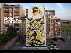 Edoardo Bartocci, la street art torna nel centro di Catanzaro - Linking Calabria   eventi, tradizioni e cultura in Calabria