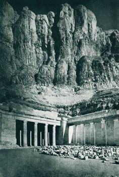 Mortuary Temple of Hatshepsut Northwest corner, second terrace Deir el Bahari, Egypt 1470 BC ca
