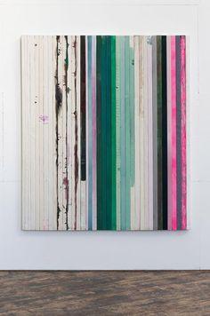 Dejan Dukic - Storage Painting Nr.14, 200cm x 169cm, Wood, Canvas, Acryl, Fluid Pigment and Oil, 2012