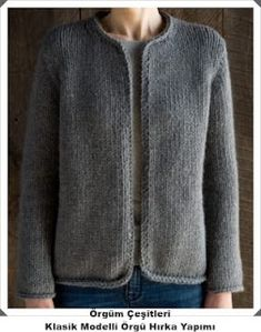 Classic Knit Jacket knitting pattern by Purl Soho.How happy I would be if I could knit this: Purl SohoFree Knitting Pattern for Easy Knit Cardigan Pattern, Sweater Knitting Patterns, Crochet Poncho, Jacket Pattern, Knitting Designs, Knit Patterns, Free Knitting, Knitting Needles, Easy Knitting Projects