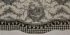 French Country Valance Patterns | Details about French Country VALANCE Curtain Rooster Waverly La Petite ...
