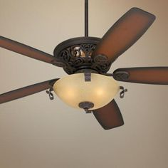 casa vieja hacienda fan bronze scroll ceiling fan