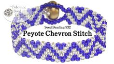 This video tutorial from Potomac Bead Company co-founder Allie Buchman teaches you how to use peyote stitch to create a chevron pattern. This video uses 8/0 ...