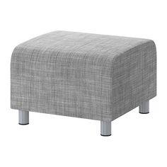 KLIPPAN Hocker - Isunda grau - IKEA