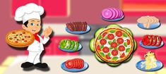 Pizza Maker Kitchen Fever Game is a Cooking game for girls and its a free game for all. Pizza Maker, Maker Game, Man Games, Games To Play, Presto Pizza, Cooking Games For Girls, Selling Apps, Pizza Shapes, Becoming A Chef