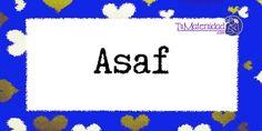 Conoce el significado del nombre Asaf #NombresDeBebes #NombresParaBebes #nombresdebebe - http://www.tumaternidad.com/nombres-de-nino/asaf/