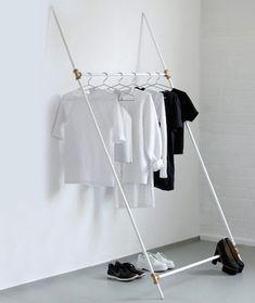 DIY Modern Clothing Rack