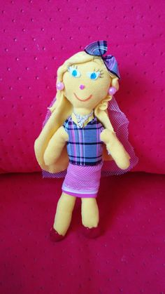 textile doll for my daughter