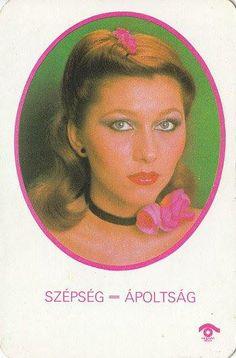 Szépség = Ápoltság Nosztalgia: kártyanaptár 1980-ból. Ki emlékszik?
