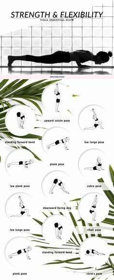 Strength and Flexibility Yoga Workout | Posted By: CustomWeightLossProgram.com