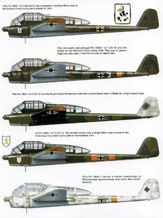 Focke Wulf FW 189A-1 variants