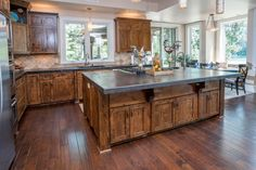 kitchen with island beautiful pictures of kitchen islands hgtv s favorite 10658