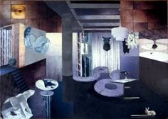 Original Interiors Collage by Ossa Haddas After Hours, Photorealism, Painted Paper, Online Gallery, Buy Art, Paper Art, Minimalism, Saatchi Art, Original Art